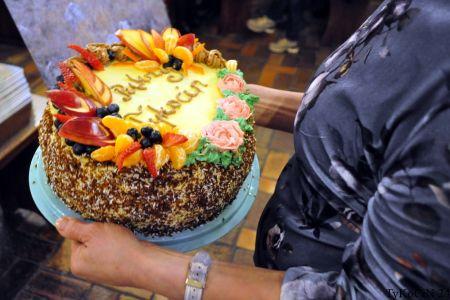 tort od Koła Gospodyń Wiejskich z Tykocina