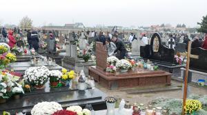 Procesja na cmentarz 2017